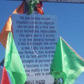 In migliaia sul Semprevisa per ricordare Daniele Nardi.